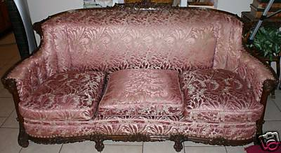 French Settee on French Settee Sofa